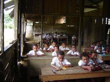 Sekolah di Papua